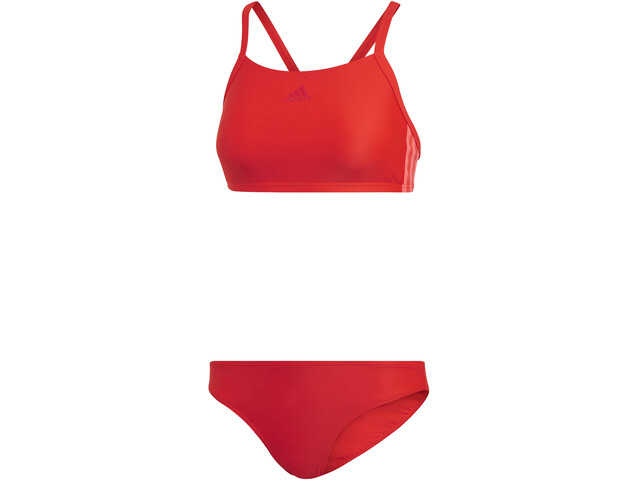 adidas Fit 3-Stripes Infinitex Bikini Women active red